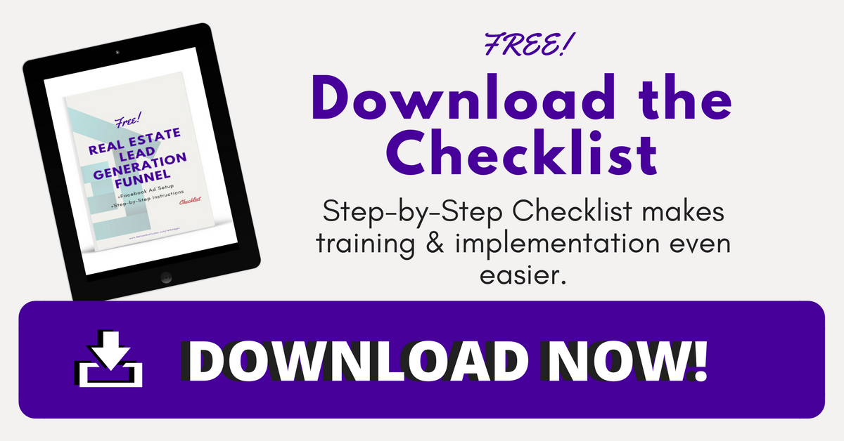 Real Estate Marketing Checklist DOWNLOAD